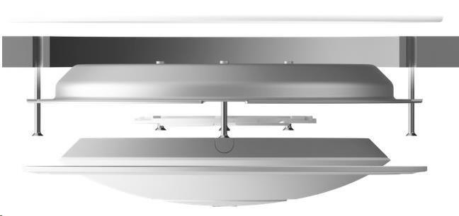 UBNT nanoHD-RCM-3 vestavný stropní držák, 3-Pack