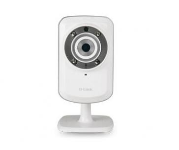 D-Link DCS-932L Securicam Wireless N Home IP Network Camera, myDlink, VGA, noční IR