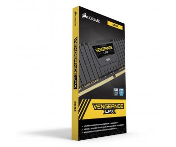 CORSAIR CMK32GX4M2E3200C16 Corsair Vengeance LPX DDR4 32GB 2x16GB 3200MHz CL16 1.35V XMP 2.0 Black