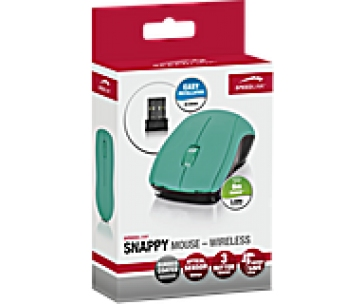 SPEED LINK myš SL-630003-TE SNAPPY Mouse - Wireless USB,turquoise
