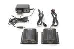 Extender HDMI up to 130m Cat.5e/6 UTP, 1080p 60Hz FHD HDCP 1.4, IR, audio (SET)
