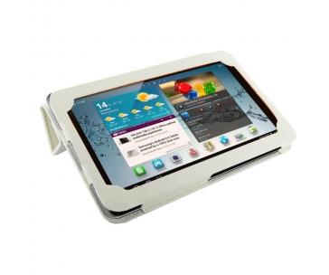 4WORLD 09108 4World Pouzdro - stojan pro Galaxy Tab 2, Folded Case, 7, bílý