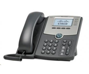 Cisco SPA514G-RF, VoIP telefon, 4line, 2x10/100/1000, displej, PoE, REFRESH