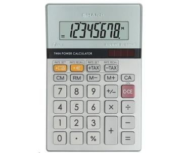 SHARP kalkulačka - EL330ERB - stříbrná