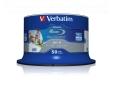 Verbatim Blu-ray BD-R DataLife [ Spindle 50 | 25GB | 6x | WIDE PRINTABLE NO ID ]