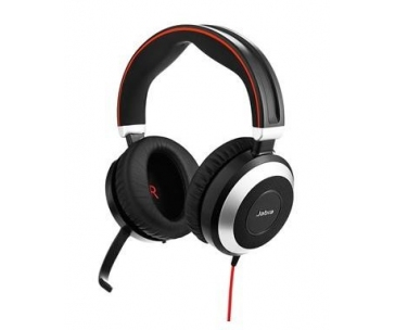 Jabra náhlavní souprava Evolve 80 UC, NC, stereo, MS