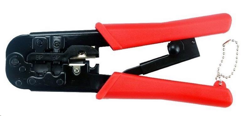 GEMBIRD Kleště krimpovací (T-WC-02) pro konektory RJ45/RJ12/RJ11