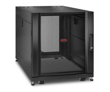 APC NetShelter SX 12U Server Rack Enclosure 600mm x 1070mm w/ Sides Black