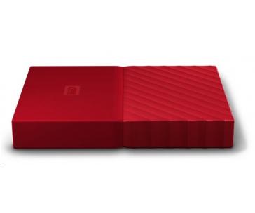 "BAZAR WD My Passport 1TB Ext, 2,5"" USB3.0, RED"
