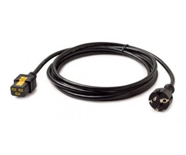 APC Power Cord, Locking C19 to CEE/7 Schuko, 3.0m (C19/CEE 7/7)