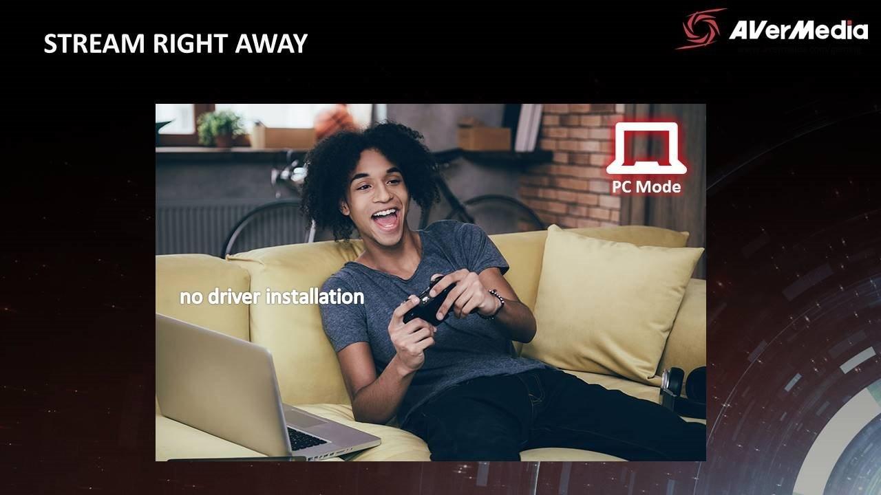 AVERMEDIA Live Gamer Portable 2, USB, nahrávací / streamovací zařízení