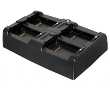 Datalogic Multi Battery Charger, recharges 4 spare batteries