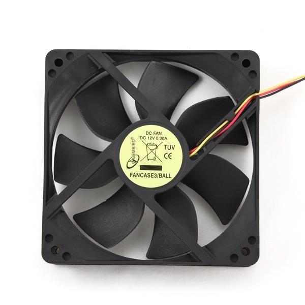 GEMBIRD ventilátor do skříně 120x120 kuličkové ložisko