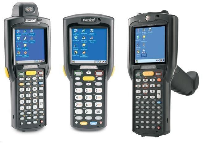 Motorola/Zebra Terminál MC3200WLAN, BT, GUN, 1D, 48 key, 2X, Windows CE7, 512/2G, prohlížeč