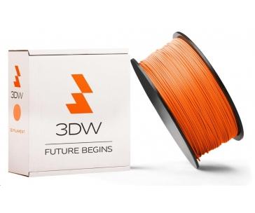 3DW ARMOR - PLA filament, průměr 1,75mm, 500g, oranžová, teplota tisku 190-210°C