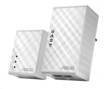 ASUS PL-N12 1x Powerline Wireless N300 Extender AV500 + 1x Powerline Adapter AV500
