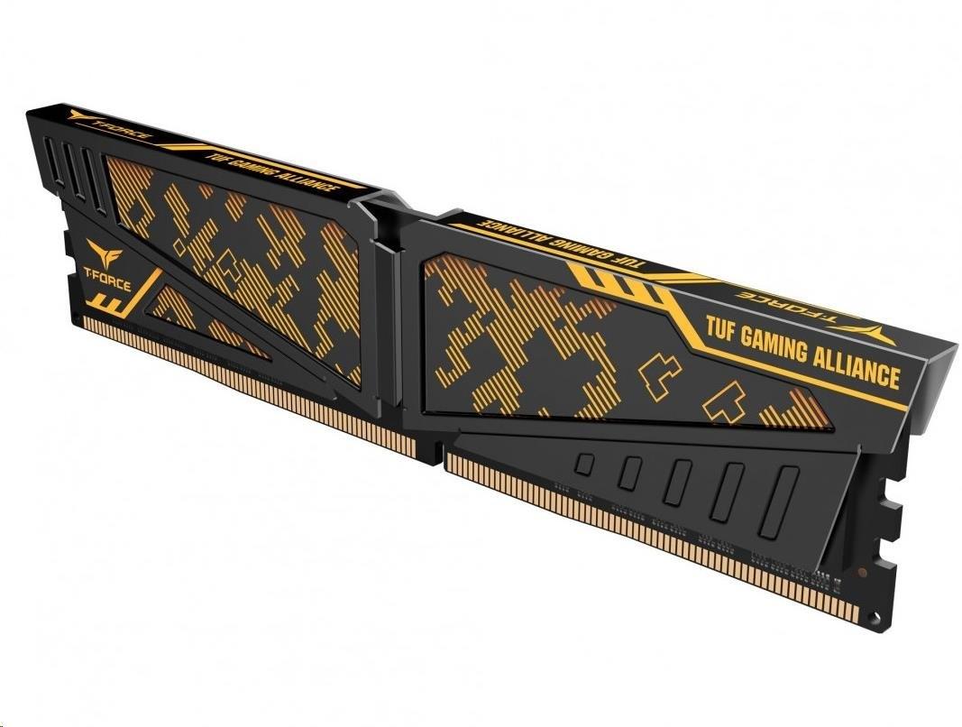 DIMM DDR4 16GB 3200MHz, CL16, (KIT 2x8GB), TEAM T-FORCE VULVAN TUF Gaming Alliance