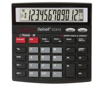 Rebell kalkulačka - stolní - CC512