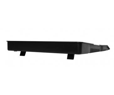 """CRONO aktivní chladicí podložka pod notebook CB156 do 15.6"""", modré LED podsvícení"""