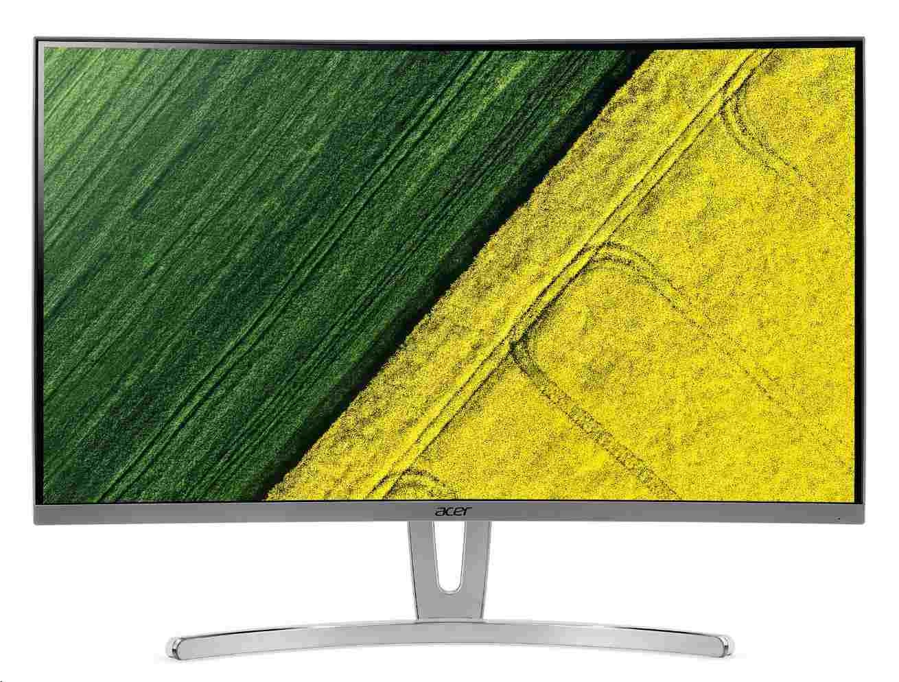 """ACER LCD ED273Awidpx, 69cm (27"""") LED Curved, FHD 1920x1080@144Hz, 100M:1, 250cd/m2, 178°/178°, 4ms, DVI, HDMI, DP, Audio"""