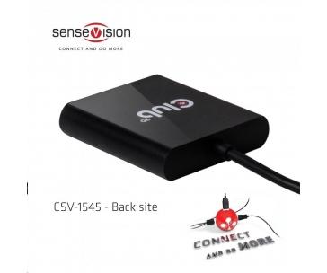 Club3D Video hub MST (Multi Stream Transport) USB 3.1 typ C na 2x DisplayPort 1.2