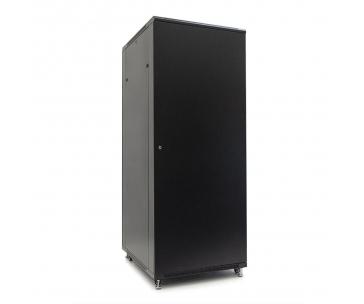 Netrack server cabinet RACK 19'' 42U/800x1000mm ASSEMBLED (glass door) - black