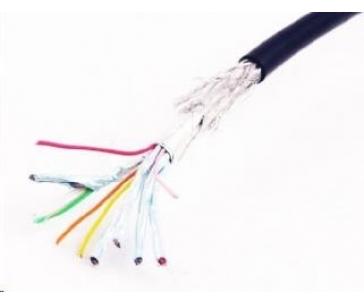 GEMBIRD Kabel HDMI - HDMI 4,5m, 90° konektor (v1.4, M/M, zlacené kontakty, stíněný)