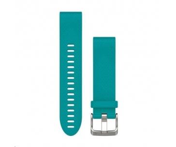 Garmin řemínek pro fenix5S - QuickFit 20, tyrkysový