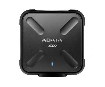 ADATA ASD700-512GU31-CBK ADATA externí SSD SD700 512GB USB 3.1 3D TLC (čtení/zápis: 440/430MB/s) černá