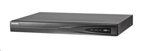HIKVISION NVR, 4 kanály, 1x HDD (až 8TB), 4K UHD, 4xPoE (40W), 2x USB, 1xHDMI a 1xVGA výstup, audio in/out