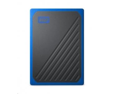 SanDisk WD My Passport Go externí SSD 1TB My Passport Go, USB 3.0 modrá