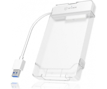 IcyBox USB 3.0 Adapter cable for 2.5'' SATA HDD and SSD, White