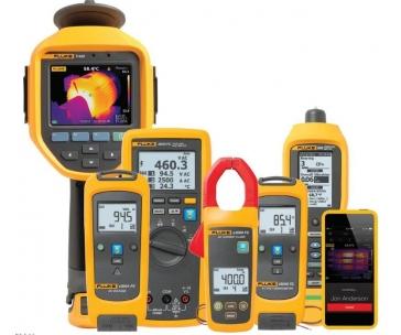 CONRAD Profi sada vhodná pro průmyslové použití, Fluke FLK-3000 FC IND, Fluke Connect