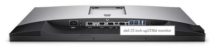 "Dell UltraSharp 25 PremierColor Monitor | UP2516D - 63.5cm (25"") Black, EUR, 16:9, IPS, DP, mDP, HDMI, USB, PIVOT, 3Y"