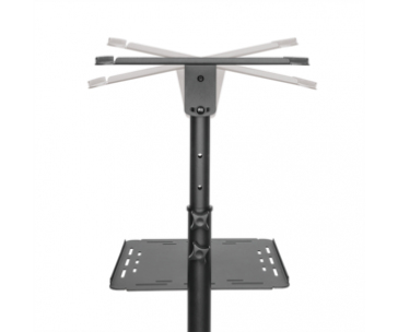 LOGILINK - Steel adjustable projector/ laptop trolley