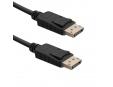 QOLTEC 50587 Qoltec DisplayPort v1.4 male / DisplayPort v1.4 male 2m
