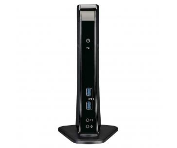 Toshiba OP Dynadock U3.0 – replikátor portů USB 3.0 (4x USB 3.0, 2x USB 2.0, HDMI, DVI) leskle černý