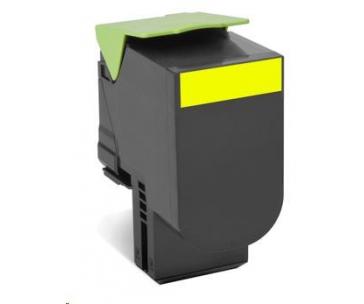 LEXMARK Yellow toner 802HY pro CX410/510 z programu Lexmark Return (3 000 stran)