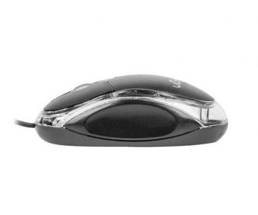 UGO Optic mouse SIMPLE 1000 DPI, Black
