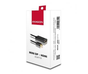 AXAGON RVDM-HI, Mini DisplayPort -> HDMI redukce / adaptér, FullHD, 1920*1200