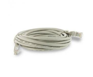 4WORLD 06110 4World Síťový kabel RJ45, bez krytky, Cat. 6 FTP, 1m, Šedý